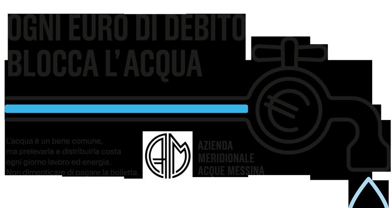 Campagna recupero crediti AMAM - Azienda Meridionale Acque Messina